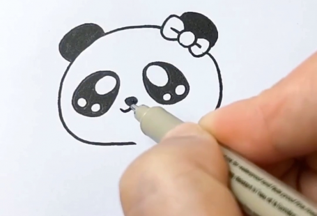 The very easy way about how we draw panda👉Shop the same pen at www.paperhouse.me💝Get $3 with code