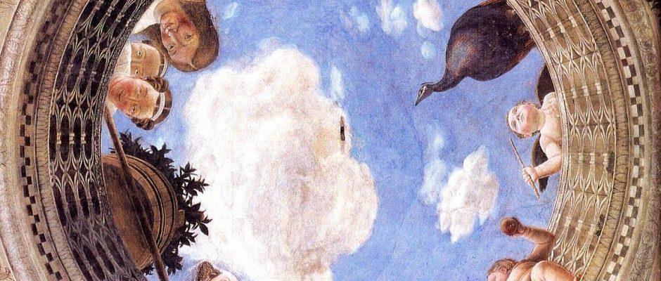 Andrea Mantegna - Ceiling Oculus of the Camera Picta