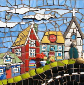 OF MICE AND raMEN: Anja Hertle - Mosaic Artist