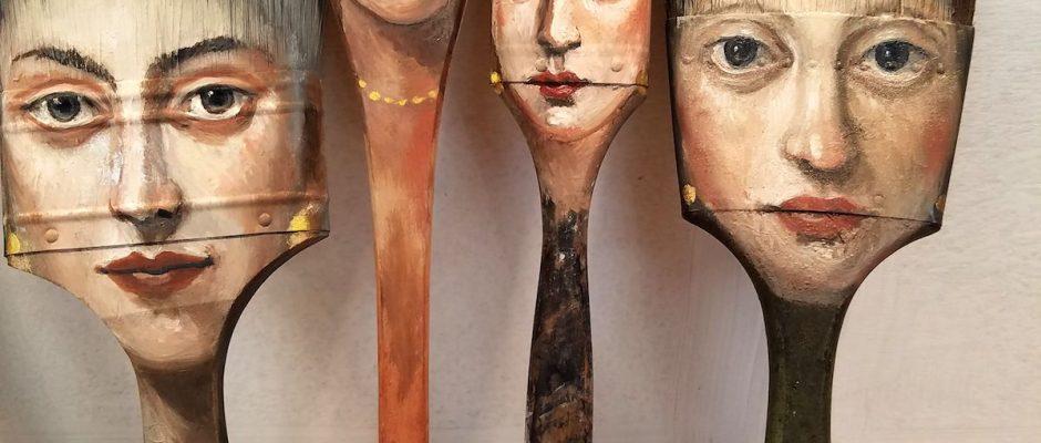 Alexandra-Dillon axe painting brush