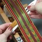 Daryl offers a full-day Inkle Weaving course on Sunday