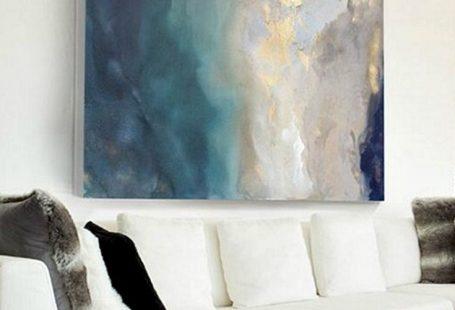Painting by artist Julia Contacessi. Artist Spotlight