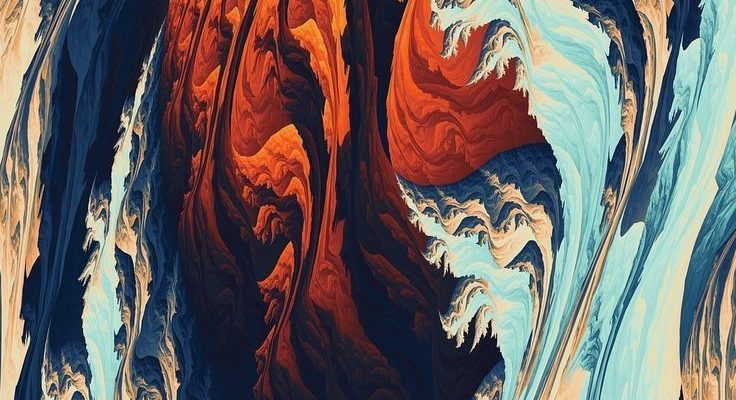 Artist Wallpaper No. 275 [MR Blog] Torrent, pattern, fractal, 1080x1920 wallpape... - #1080x1920 #Artist #Blog #fractal #pattern