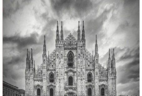 Premium Wandfolie »M. Viola: Mailänder Dom, Kathedrale Santa Maria«