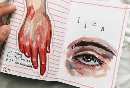 "Artsy on Instagram: ""Hello! // artist: Chloe Allen.ocampo"" #skizzenbuchkunst Hello! // artis"