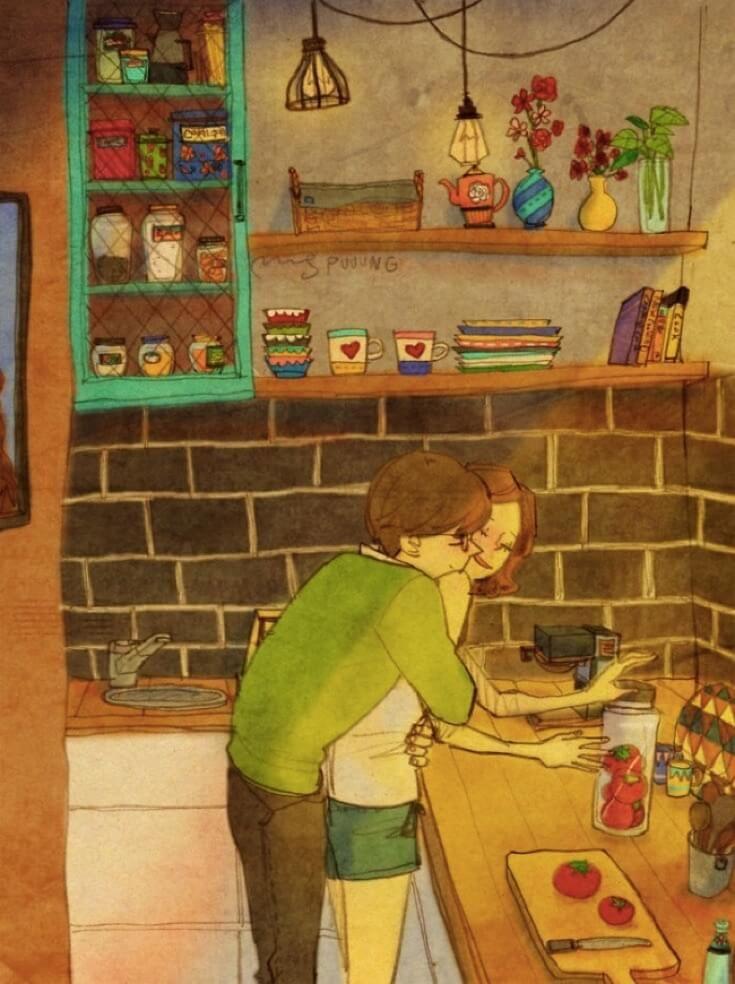 Aşık Olmanın Nasıl Bir Şey Olduğunu Çok Güzel Anlatan 15 Çizim