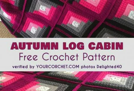Autumn Log Cabin Throw Free Crochet Pattern. This is a beautiful pattern which gives lots of possibilities for personalization. Use hues that match your interior to get the most magnificent effect. Below, I would like to show you my favourite realizations of this pattern.