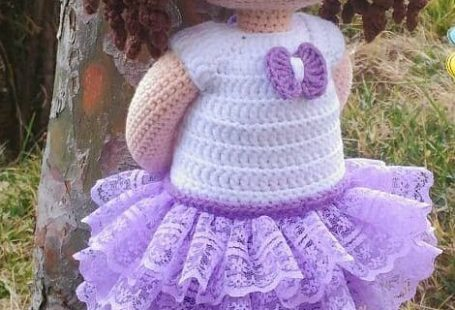 Awesome Amigurumi Crochet and Handicraft Doll for Your Kids!