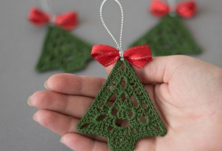 44 Beautiful Christmas Crochet Free Patterns Design www.onechitecture...