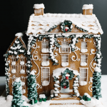 Amazing Christmas gingerbread house ideas. Decorate gingerbread houses for Christmas this year or just look through the pictures to get decorating inspiration. #gingerbread #gingerbreadhouse #christmas