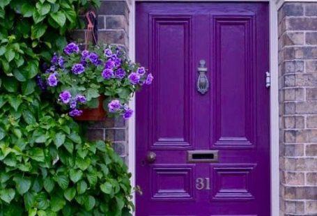 Beautiful Doors and Door Knockers - KristyWicks.com