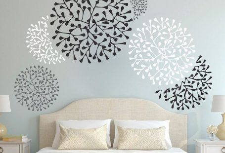 Beautiful Wall Accent Decals - Bedroom Wall Stencils - Removable Wall Accents - Wallpaper Designs - From Trendy Wall designs