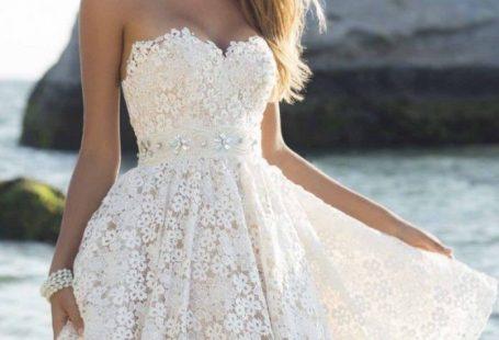 Beyaz Mezuniyet Elbiseleri Modelleri, En Güzel Beyaz Mezuniyet Kıyafetleri