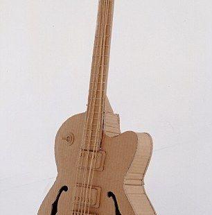 cardboard guitar #1