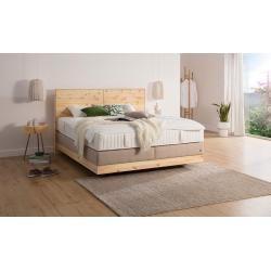 Ada Premium Amerikanisches Bett »Chalet«, inklusive Matratze, grau, H2 Adaada