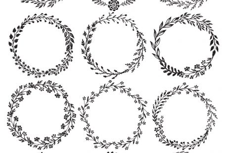 Branches, wreaths, wedding design by Fancy art on Creative Market