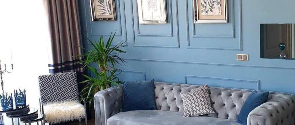 Bu Evin Serin Renkleri Şık Dekorasyona Taze Bir Nefes Katıyor