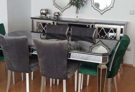 Yemek Odası, Aynalı mobilya, Salon, Konsol, Art deko stil