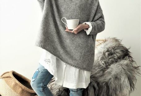 Bypias EASY Strickpullover #knit #Jumper #bypias #ootd #autumnoutfit #