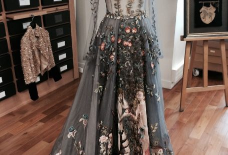 Le Jardin d Eden dress by Valentino Spring 2014 Couture - Vogue Australia