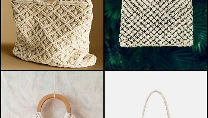 Chic, trendy, and stylish, this DIY macrame bag is something both teens and adults will love.