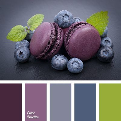 Huit nuanciers pour vous aider à associer le violet et ses multiples nuances.