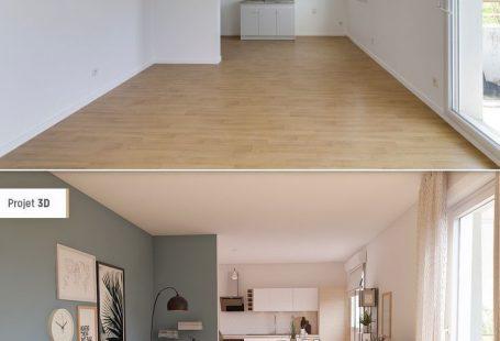 Creëer een woonkamer in Scandinavische stijl - # maak #van # meubels #Nordique # Room - Wohnaccessoires #woonkamerideeen #woonkamerdecoratie