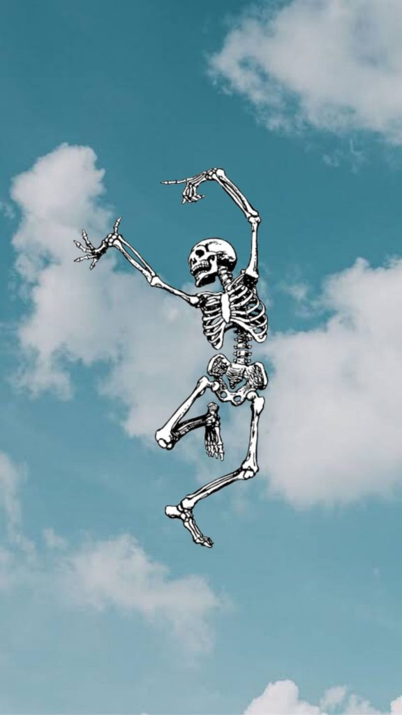 Dancing Skeleton Wallpaper Background Darkwallpaperiphone Background Wallpaper Wallpapers