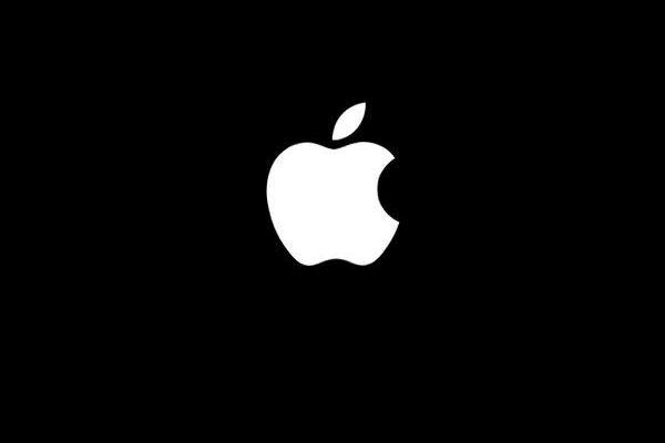 Das Apple-Logo steht immens auf einem einfachen Hintergrund. #iphone #IPhone #wallpaper # wallpapers – Ali Ağırdil - Let