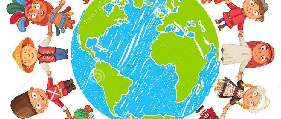 De Dag Van De Aarde Vector Illustratie - Afbeelding: 48375733
