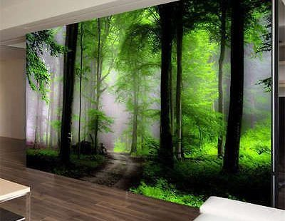 Dream Mysterious Forest Full Wall Mural Photo Wallpaper Print Kids Home 3D Decal