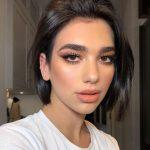 "Dua Lipa on Instagram: ""Thanks @nikki_makeup for my lil xmas glam piccy x"""