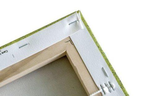 Leinwandbild Rags to Riches von Julie Ahmad East Urban Home Größe: 76 cm H x 76 cm B x 4 cm T, Format: Schattenfugenrahmen in Schwarz