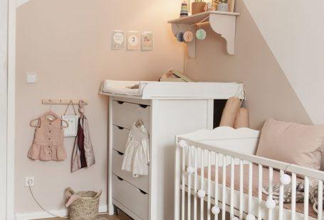 Ein Traum in #Rosa - Wunderschönes #babyzimmer für ein #Mädchen im zarten #Altrosa