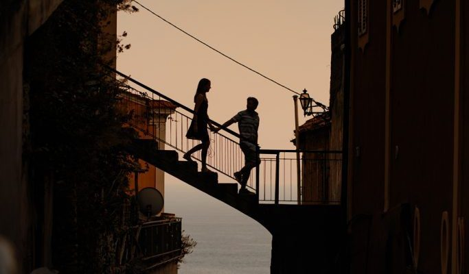 Engagement Session in Positano Italy downotwn.  The Stewarts Roam Photography.