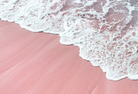 Exotic, sea waves, beach and sand Wallpaper