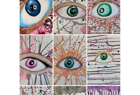 Eye Self-Portrait – THAT ART TEACHER