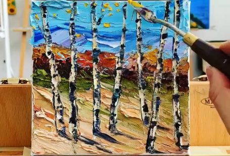 """A 6"""" palette knife painting in oil by an award winning San Francisco Bay artist. If you would like to learn more about palette knife painting, please visit my website and subscribe for info and tips! www.lisaelley.com  Lisa Manewell on Instagram Cheers, Lisa Elley #painting #a"""