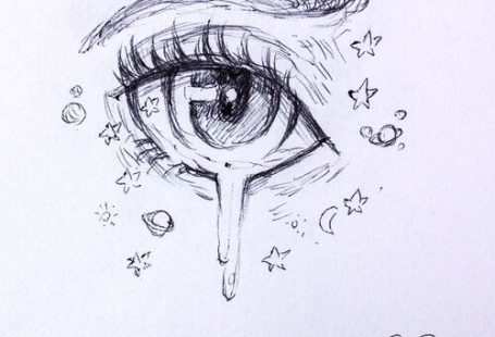 Female Anime Eye Drawing & Design (Printable PDF) — JeyRam Anime Drawings & Sketches