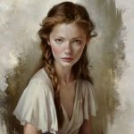 Female Portrait Illustrations By Justine Florentino » Design You Trust