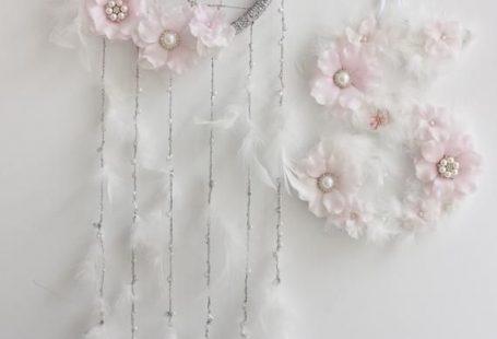 Flower Dream Catcher Dream Catcher Wall Hanging Floral Dream