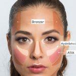 Adım 7: Fotoğraflarda yüzünüzün olduğundan çok daha simetrik görünmesini istiyorsanız, kontür mucizesinden yararlanmayı ihmal etmeyin!
