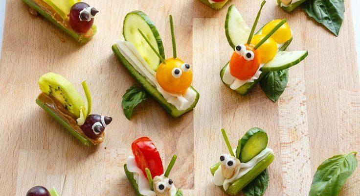 Fruit & Vegetable Bug Snacks for Envirokidz