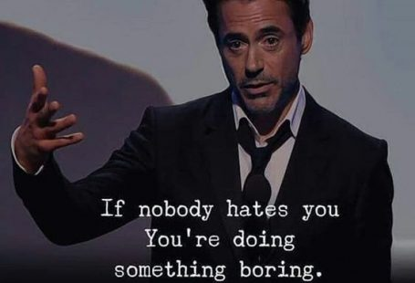 If nobody hates you, you
