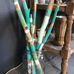 Gemaltes Treibholz in einer Treibholzvase # # # # # #  #einer #gemaltes #treibholz #treibholzvase