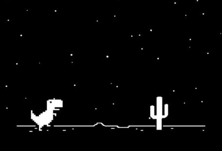 Google Chrome Dinosaur - 9GAG