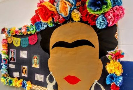 Color your school with this collaborative art project for teachers and students!!! Celebrate Mexican heritage and use the extension lessons for classwork or collaborative projects.