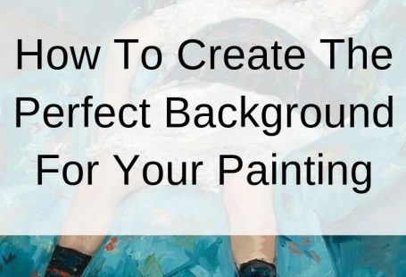 The background in a painting is by nature out of the spotlight. But that does not mean it is not important! In this post I will run through some of the different ways you can paint the background. I will also take a look at how some famous artists handled the background area. #drawpaintacademy