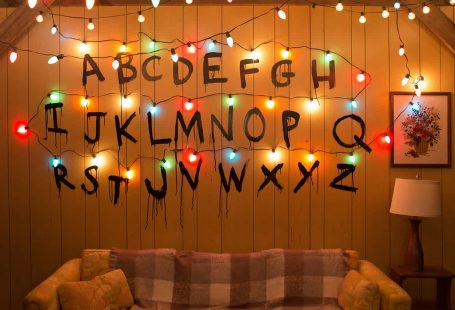 stranger things party decor