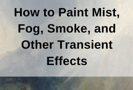 How to Paint Mist, Fog, Smoke, and Other Transient Effects. In this post, I provide you with some guidance on how to paint mist, fog, smoke, and other transient effects. These effects are typically challenging to capture on a flat surface due to their elusive and fleeting nature. Many artists seem to be either too timid with their approach, or too bold. #drawpaintacademy